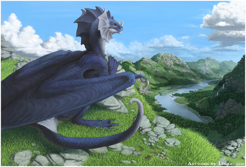 Resting by Lhuneart